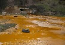 Deversare a apelor de mină