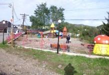 Parcul de joacă pentru copii