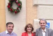 Gheorghe Mihai Bârlea, Ana Blandiana şi Romulus Rusan, la Sighetu Marmaţiei