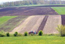 Terenuri agricole lucrate în primăvară
