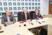 Călin Bota, Marinel Kovacs şi Anişoara Mihali - PNL Maramureş