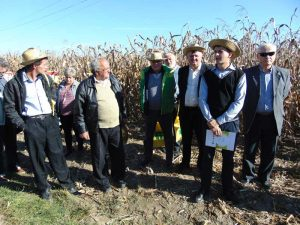 Fermieri maramureşeni la Ziua porumbului 2017