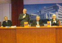 Pr. Vasile Borca, Florian Roatiş, pr. Viorel Thira, Pamfil Bilţiu