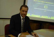 Directorul OJFIRMaramureş, Sorin Pop, la conferinţa de presă