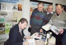 Grigore Cartianu - sesiune de autografe la Vişeu de Sus
