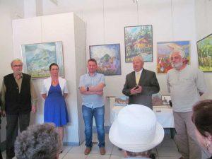 Vernisajul expoziţiei Valorile Monte Medio