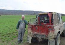 Fermierul Ducu Buhai din Vălenii Şomcutei