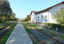 Gara funcţională din Câmpulung la Tisa, dar prin care nu mai trece niciun tren