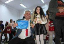 Mircea Patovan şi eleva sa,Teodora