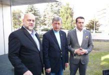 Mihai Lauruc, Valery I. Kuzmin şi Cătălin Cherecheş