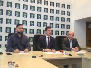 Cristian Niculescu-Țâgărlaș, Ionel Bogdan şi Călin Bota