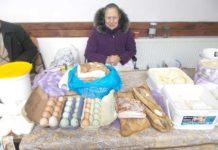 Lelea Maria Leşe, cu produse lactate la piaţă