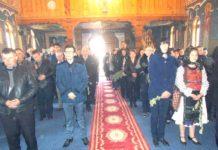 Sărbătoarea Floriilor la Mănăstirea din Lăpuş