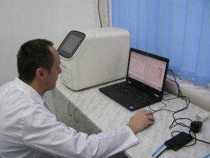 Aparatul Quant Studio 5 pentru citirea rezultatelor analizelor Real Time - PCR