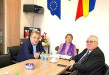 Ioan Stegeran alături de Emil Drăghici