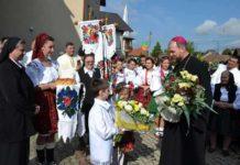 Preasfinţitul Vasile Bizău, în vizită eparhială