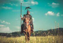 Războinicul celt, reconstituire Asociația Culturală Omnis Barbaria
